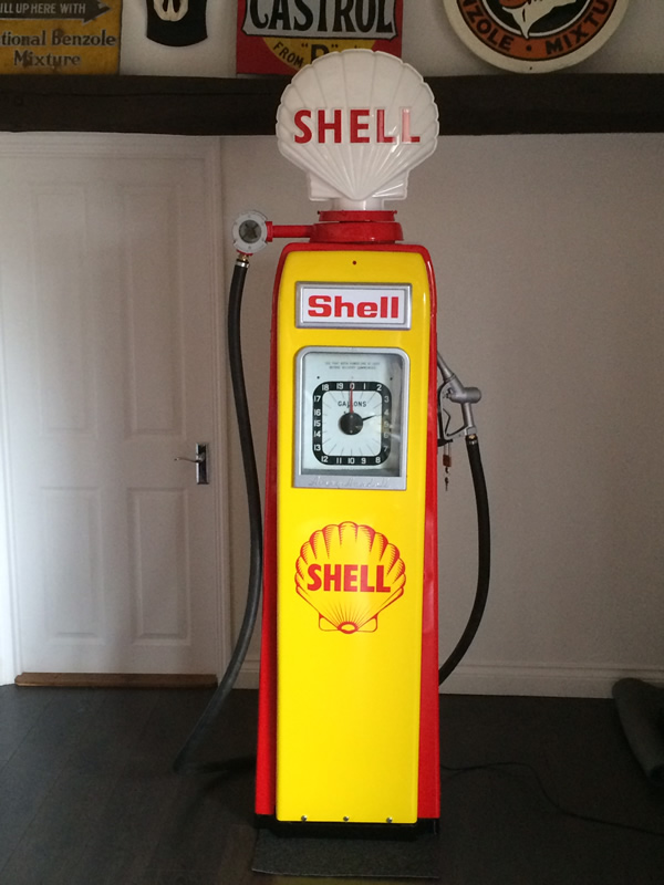 Automobilia - Restored Vintage Petrol Pumps