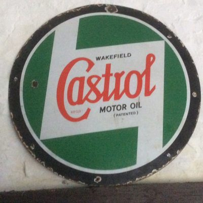 Wakefield Castrol Motor Oil Sign