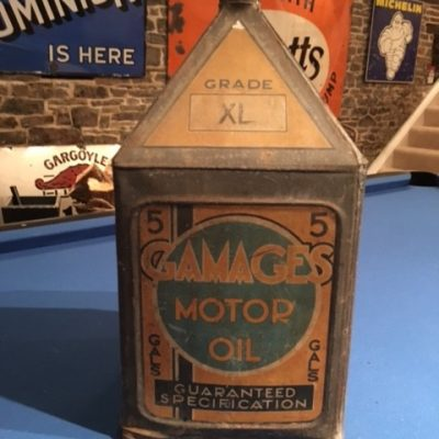A Gamages Grade XL Five Gallon Pyramid Can