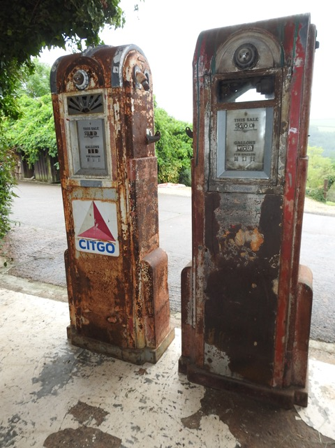 Automobilia - Unrestored Vintage Petrol Pumps
