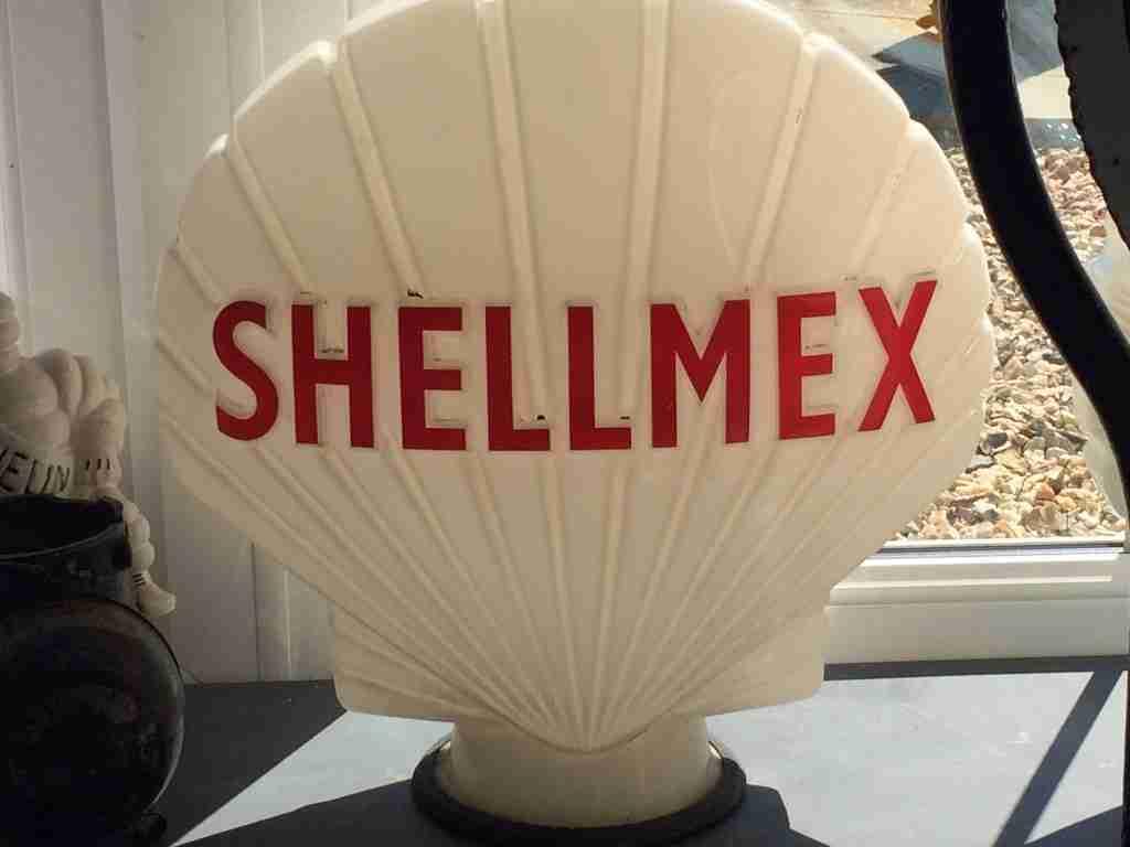 Shellmex Petrol Pump Globe