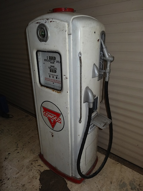 UK Restoration's Unrestored Bennett Petrol Pump