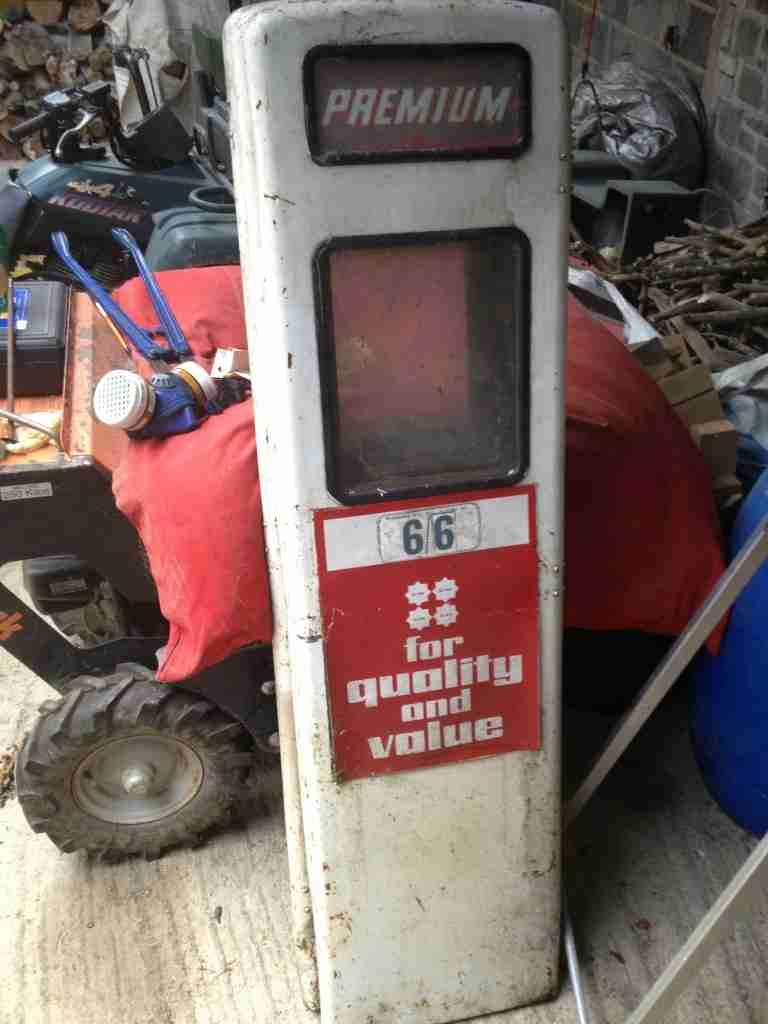 Petrol Pump As Found