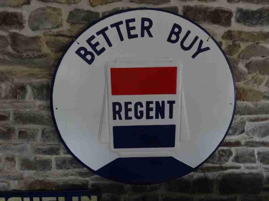 Better Buy Regent Sign
