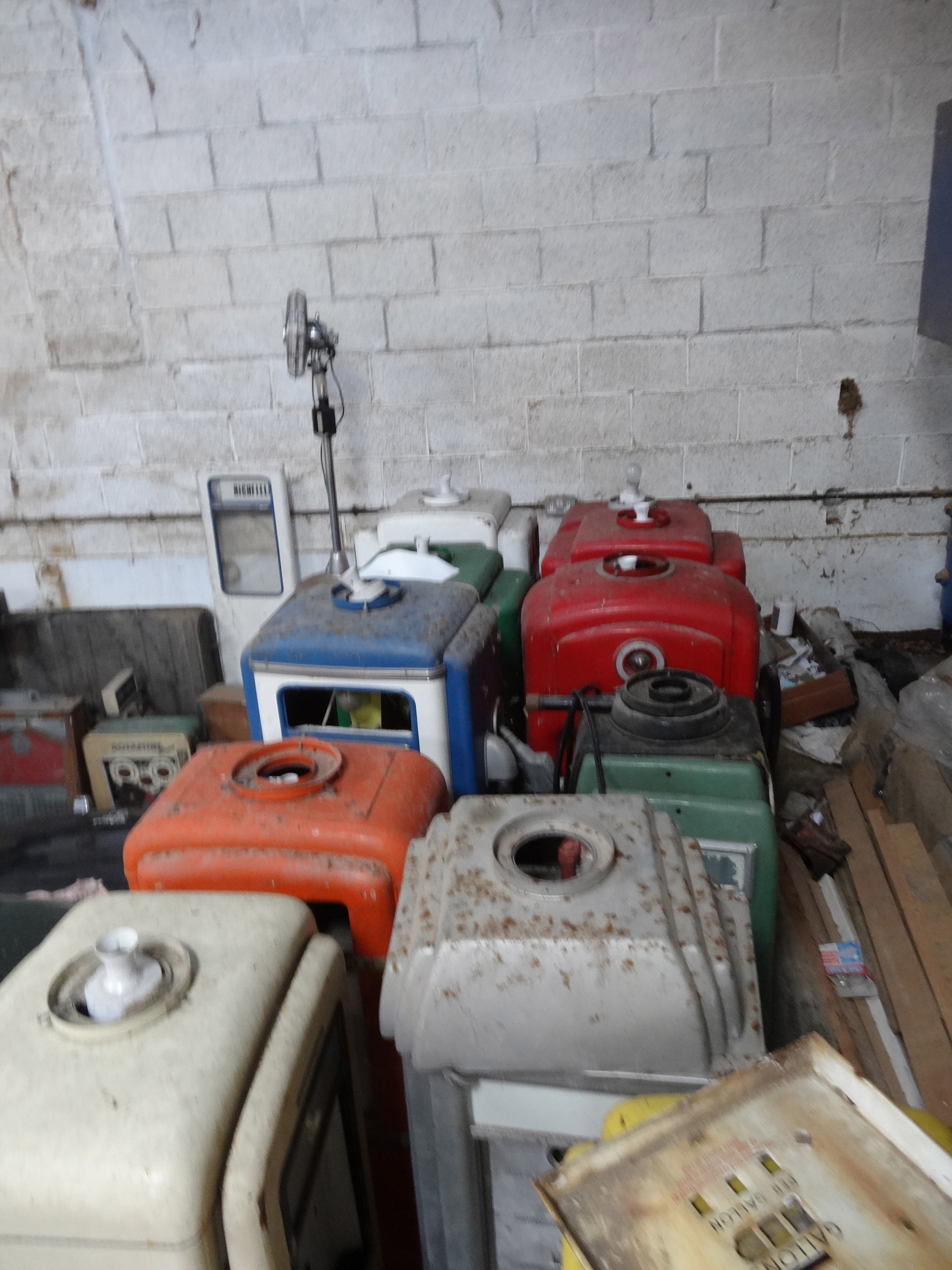 Petrol Pumps As Found