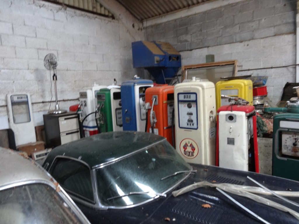 Petrol Pumps As Found by UK Restoration