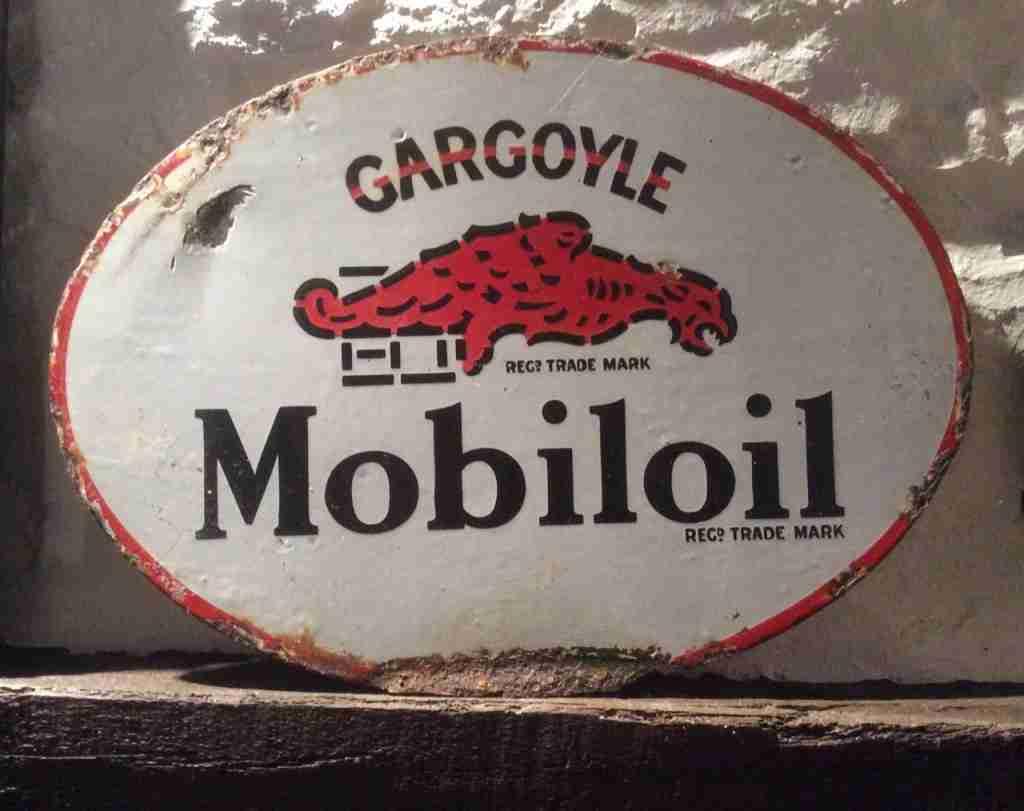 Mobiloil Gargoyle Sign