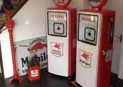 very Hardoll Petrol Pump In Mobilgas Special & Regular Livery