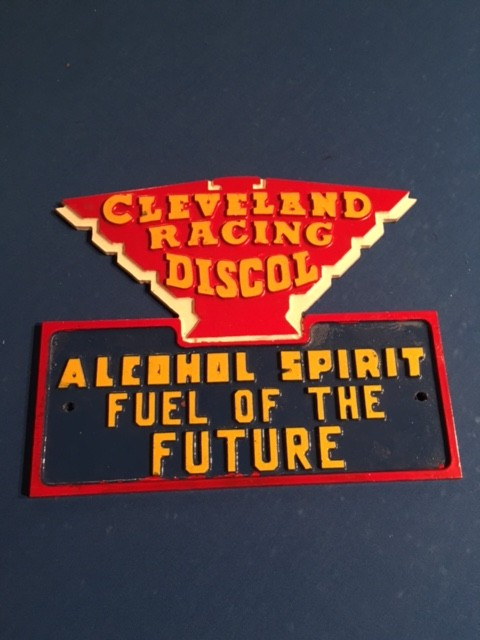 Cleveland Racing Discol Sign