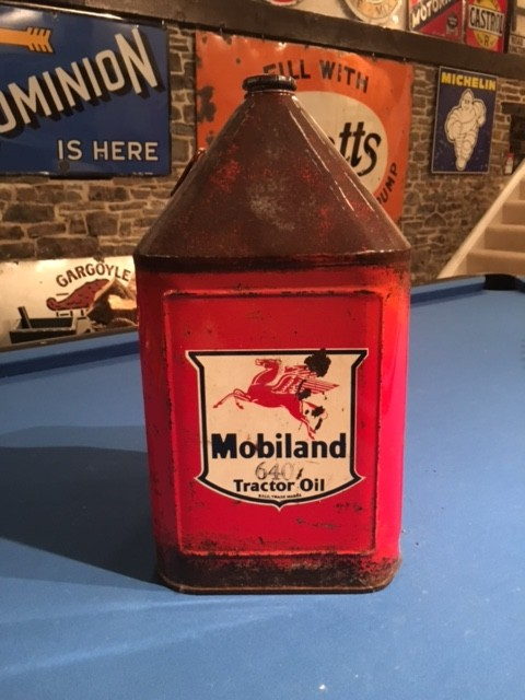 Mobiland Tractor Oil Pyramid Can