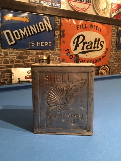 Shell Aviation Petrol Can