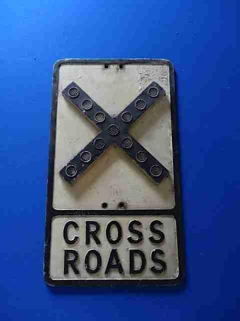 Gowshall Ltd Cross Road Sign