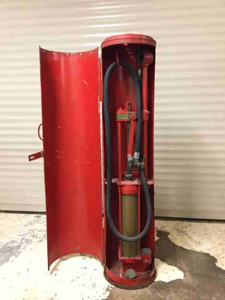1920s HJ Godwin P1 Skeleton Petrol Pump