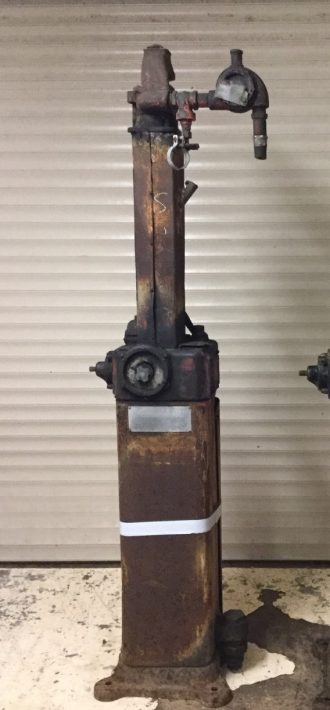 1922 Bowser Chief Sentry Petrol Pump