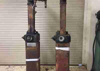 1922 Bowser Chief Sentry Petrol Pumps