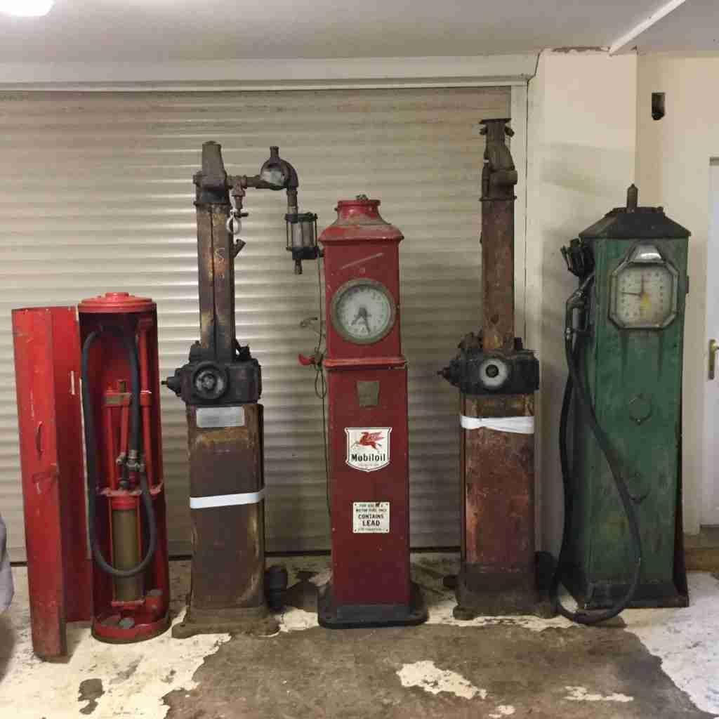 UK Restoration's Unrestored Petrol Pumps