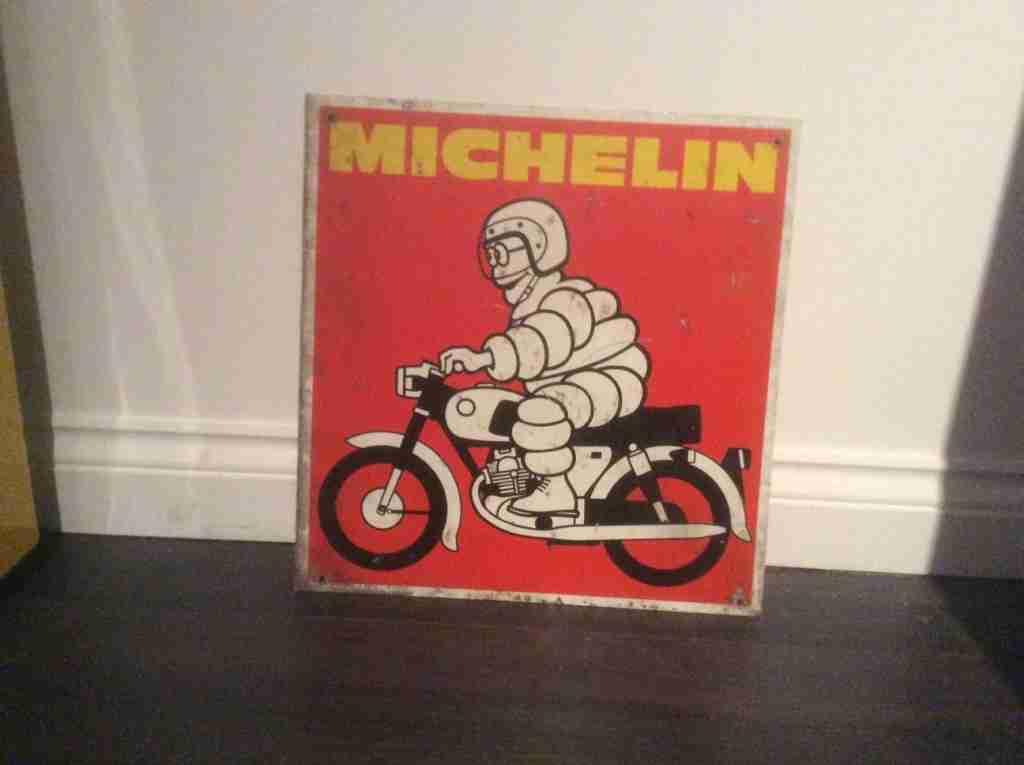 Michelin Man Sign