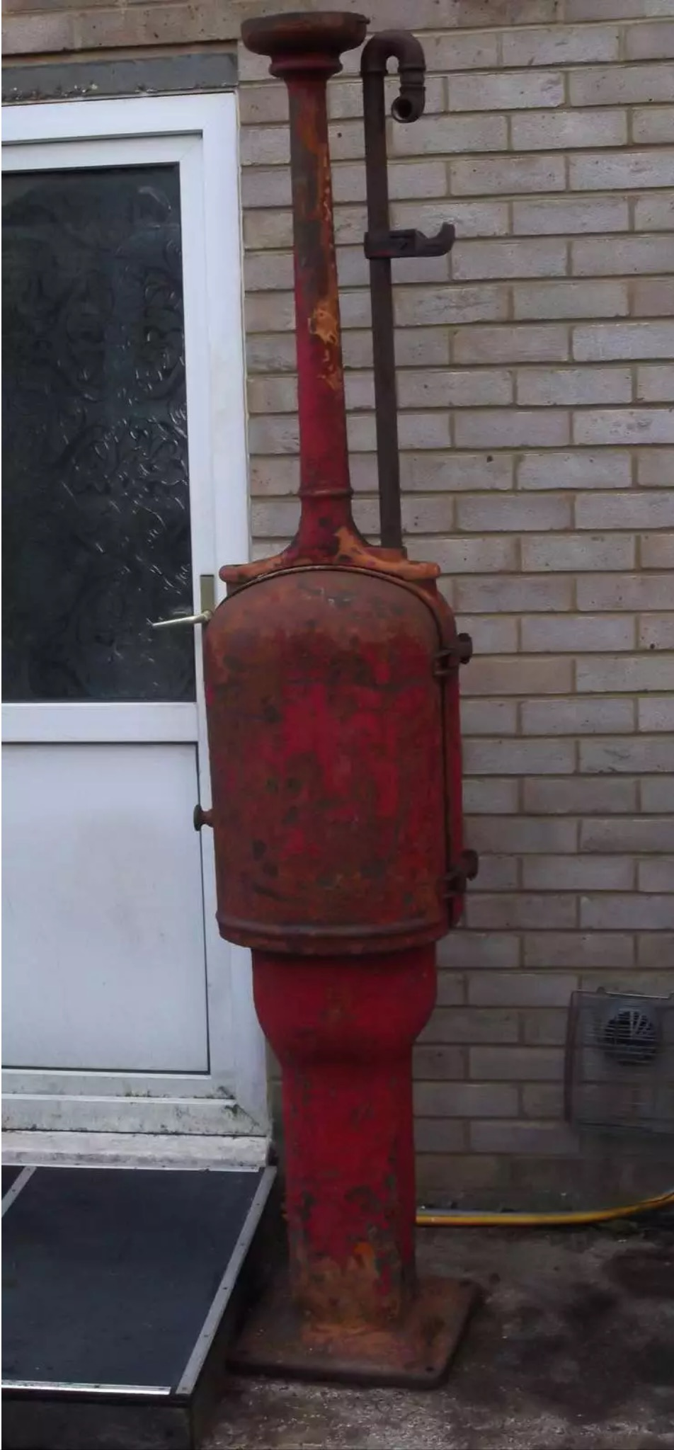 1920's Gilbert and Baker T8 Fat Lady Petrol Pump