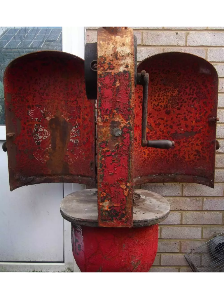 1920's Gilbert and Baker T8 Fat Lady Petrol Pump