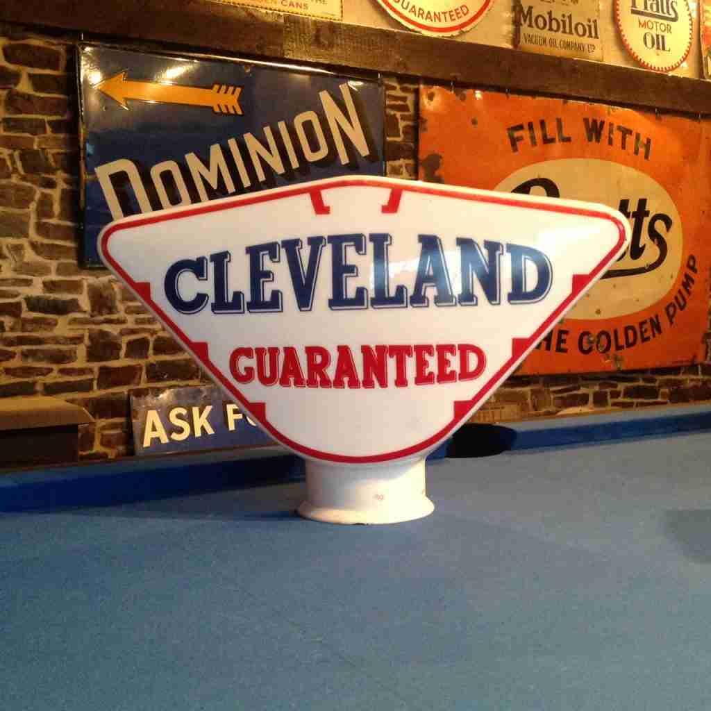 Cleveland Guaranteed Petrol Pump Globe