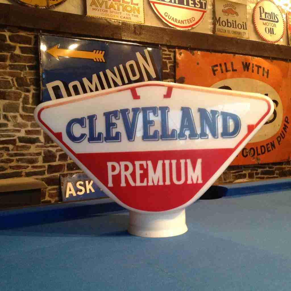Cleveland Premium Petrol Pump Globe