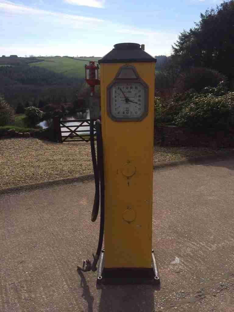 UK Restoration Unrestored Vintage Avery Hardoll 288 Petrol Pump