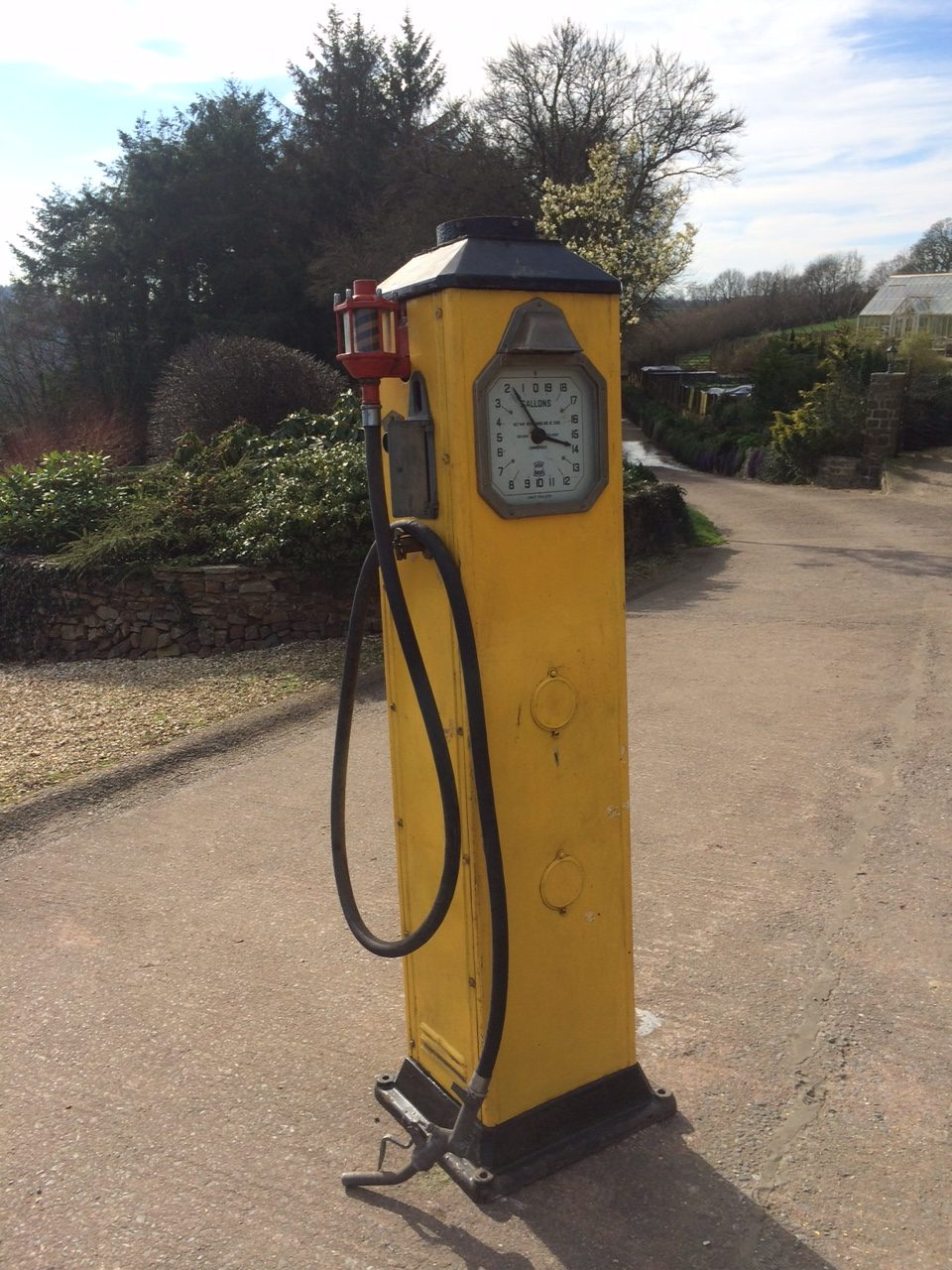 UK Restoration Unrestored Vintage Avery Hardoll 288 Petrol Pump