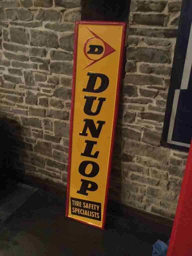 Dunlop Sign