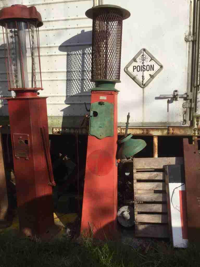 Hayes Petrol Pump