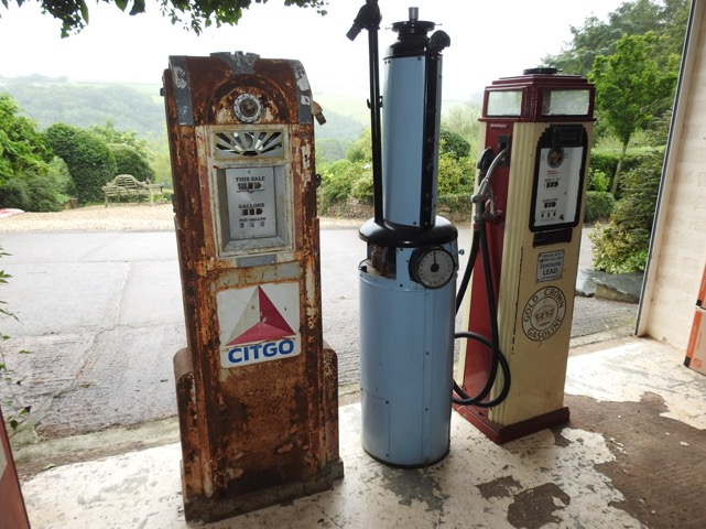 UK Restoration's Unrestored Vintage Petrol Pumps