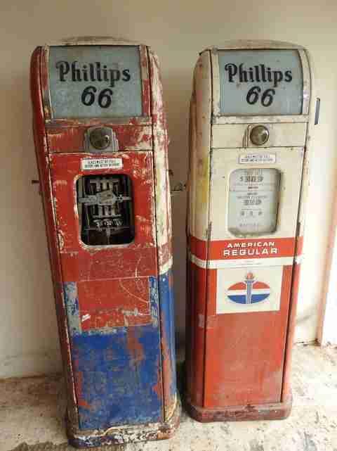 National A38 Petrol Pumps