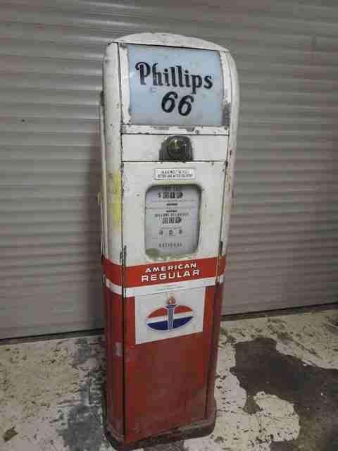 National A38 Petrol Pump