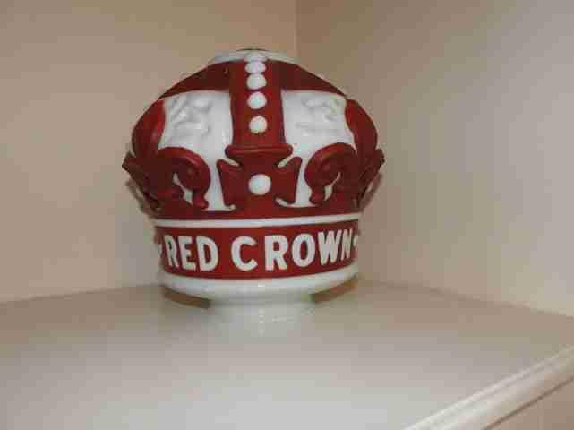 Standard Oil Petrol Pump Rouge Globe