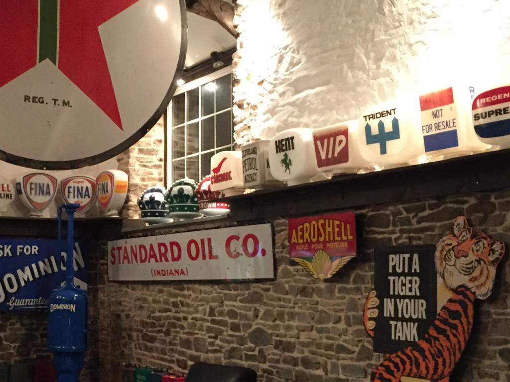 UK Restoration's Vintage Petrol Globe Collection