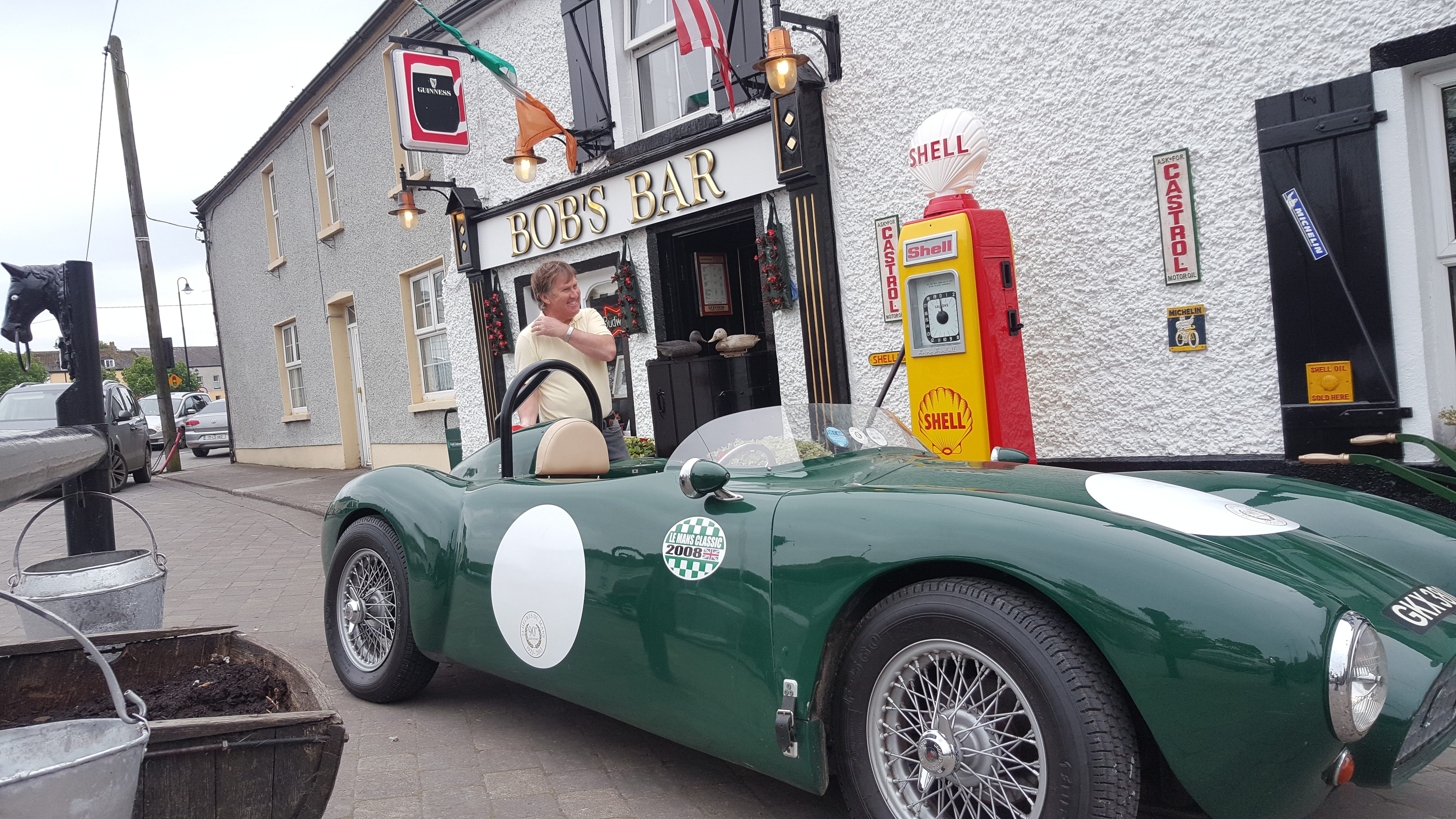 UK Restoration's Avery Hardoll 101 Petrol Pump in Shell Livery in Ireland
