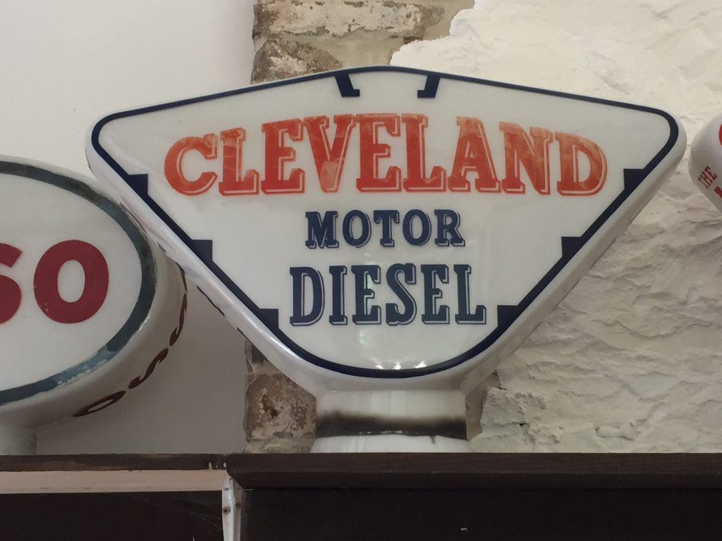 Cleveland Motor Diesel Petrol Pump Globe