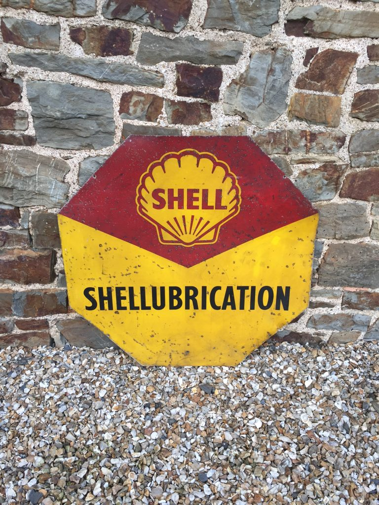 Shell Lubriaction Sign