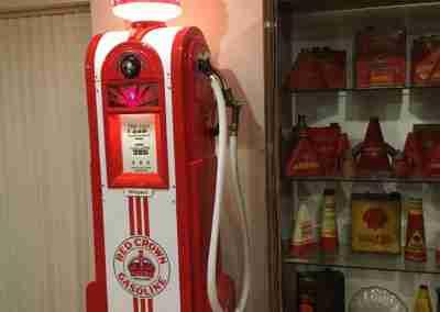 UK Restoration's Restored Wayne 60 Petrol Pump in Red Crown Gasoline Livery1