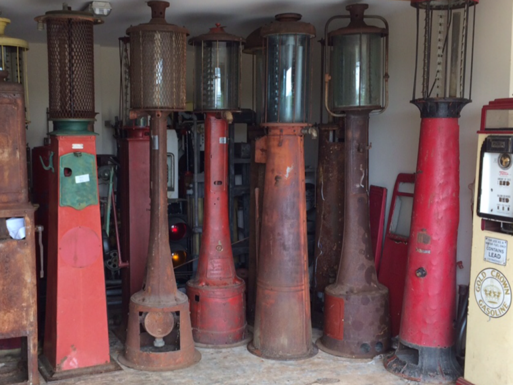 Petrol Pumps Found by UK Restoration