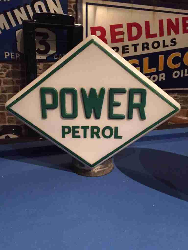 UK Restoration Power Petrol Globe