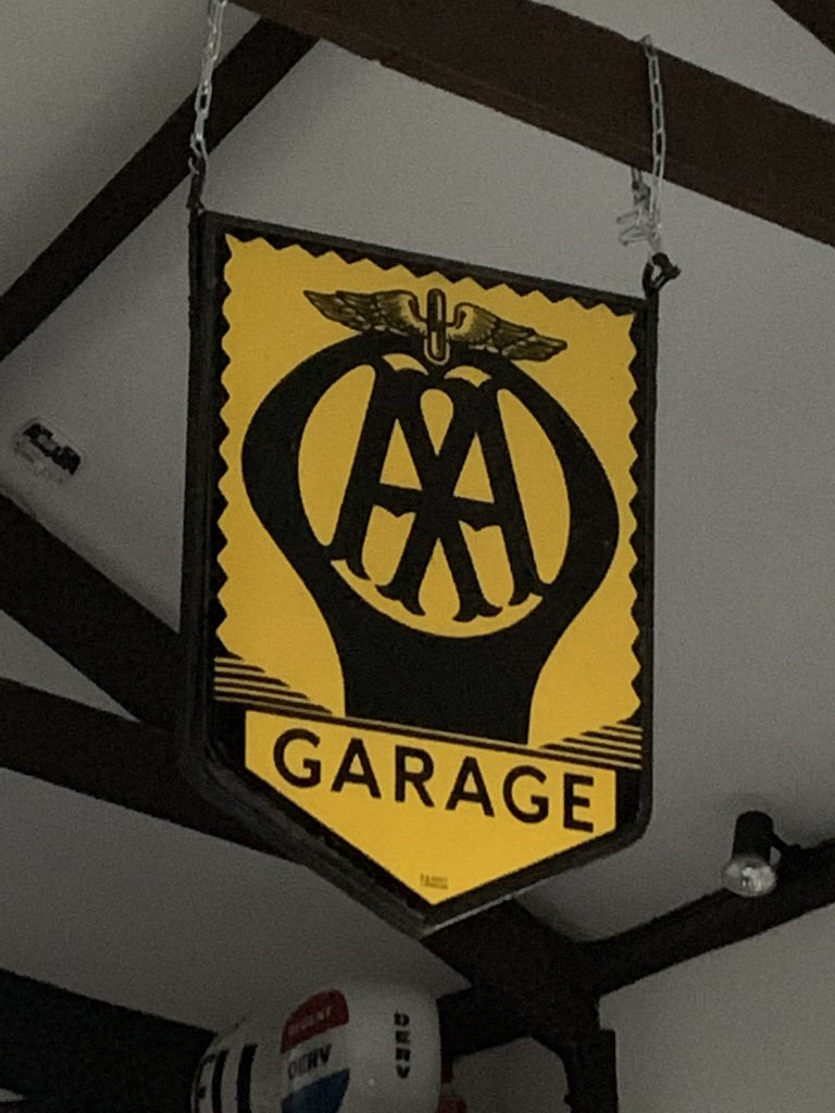AA Hanging Sign