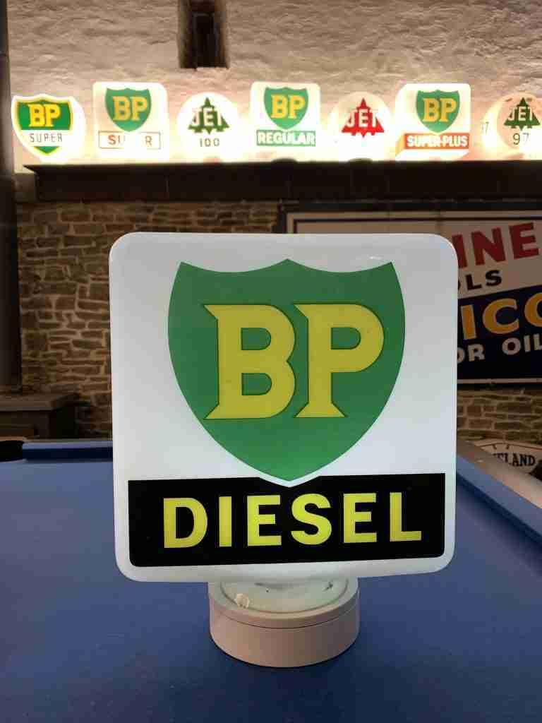 BP Diesel Globe