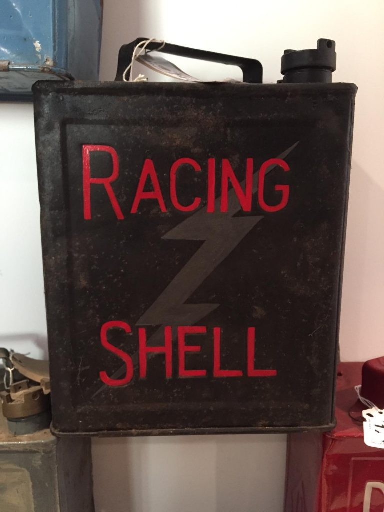 UK Restoration's Racing Shell Vintage Petrol Can
