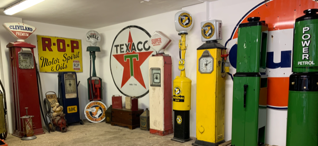 UK Restoration's Vintage Petrol Pumps and Automobilia