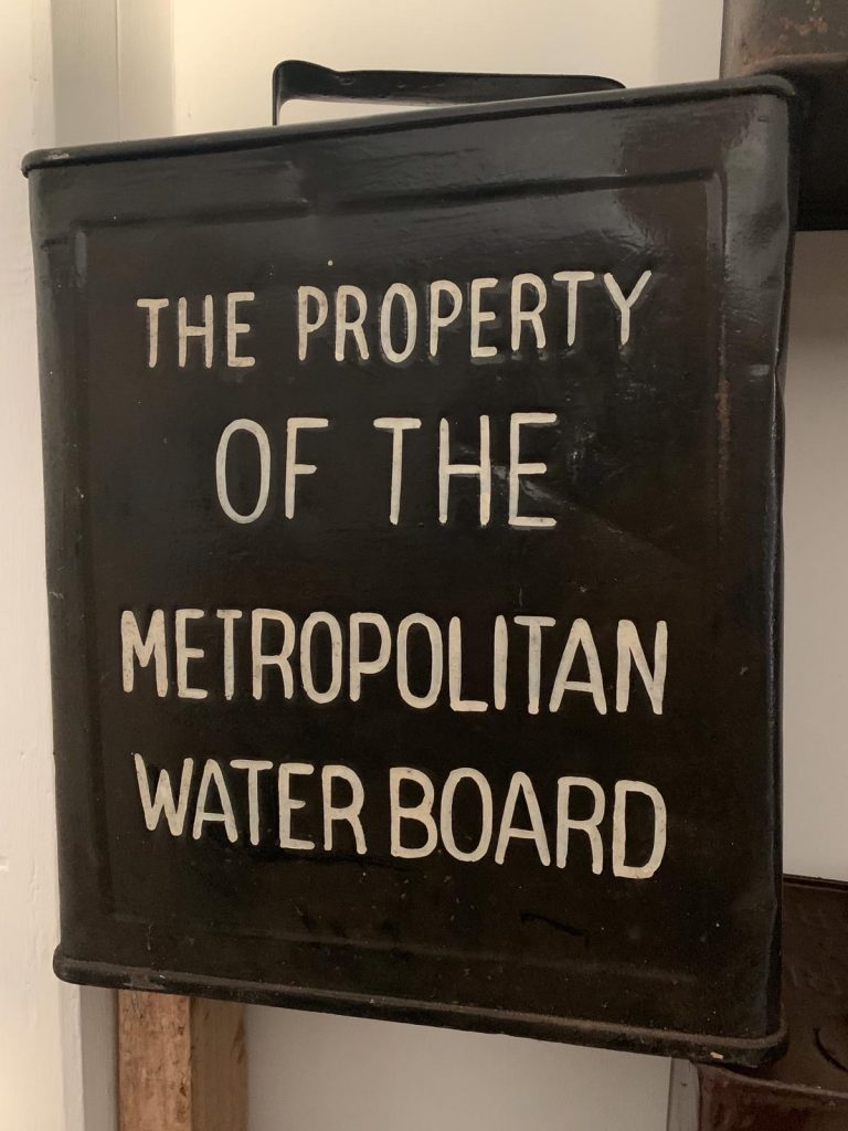 "UK Restoration's ""The Property of The Metropolitan Water Board"" Vintage Petrol Can"
