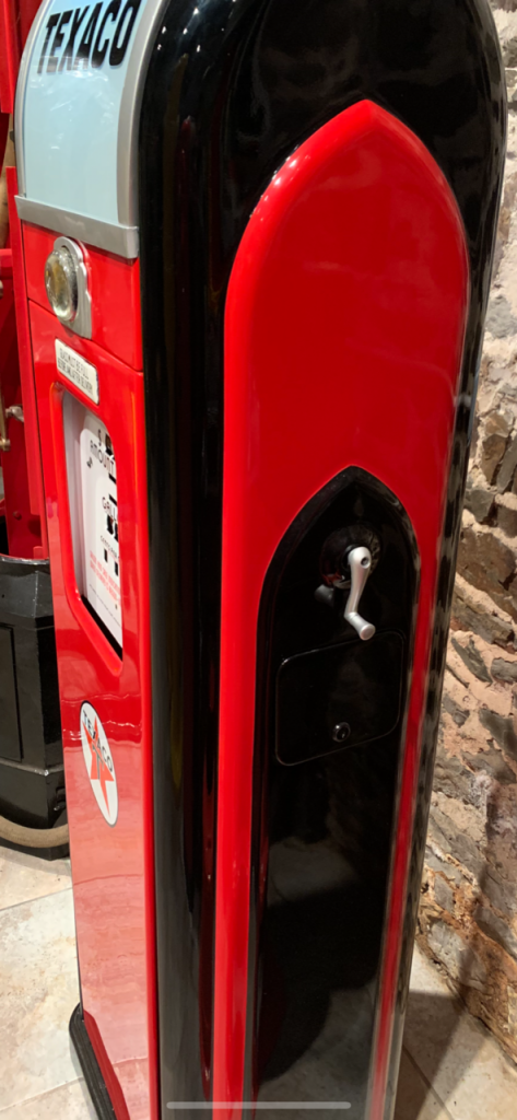 UK Restoration's National A38 Petrol Pump in Texaco Livery