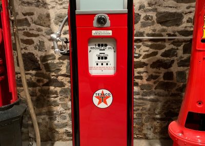 UK Restoration's National Petrol Pump in Texaco Livery