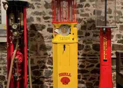 UK Restoration's Satam Birdcage Petrol Pump3