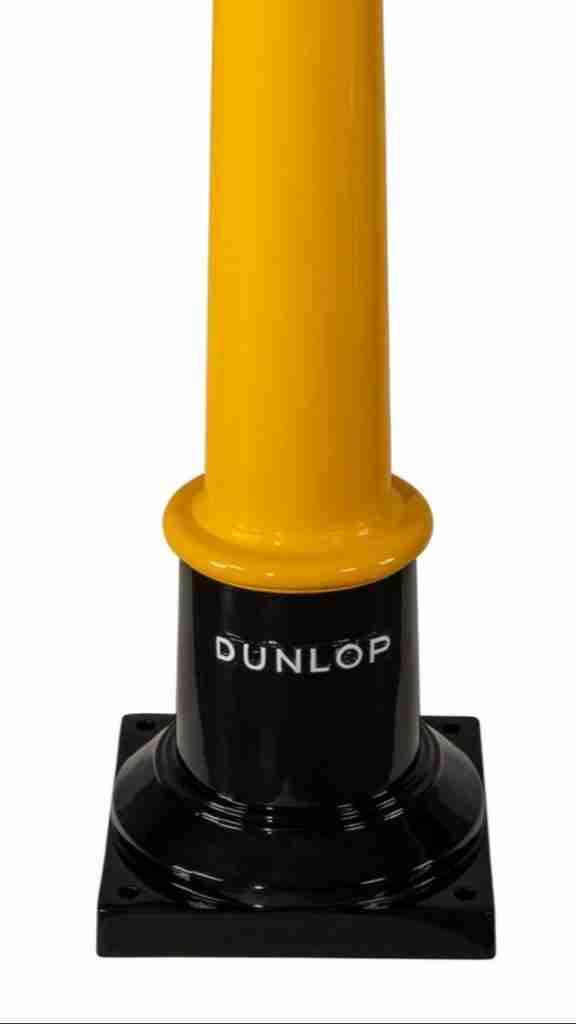 UK Restoration's Vintage Dunlop Air Tower in Dunlop Livery