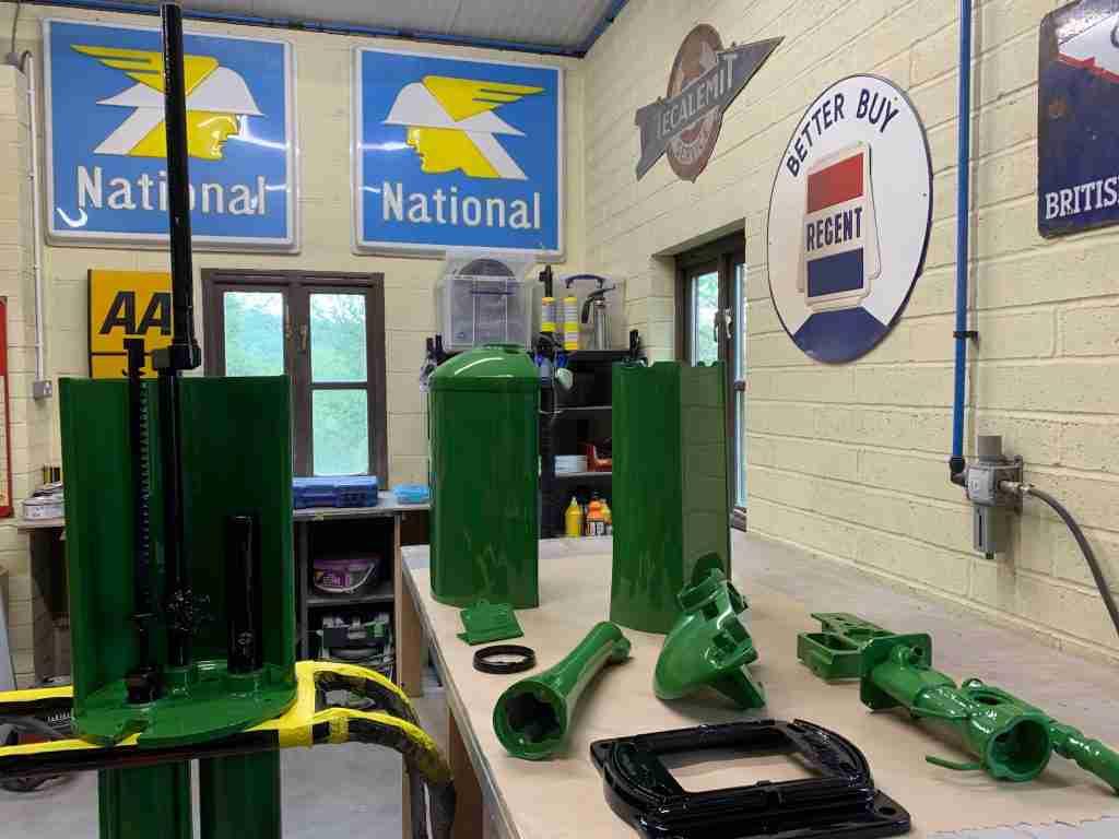 UK Restoration's Workshop - Bowser in Power Green